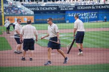 Here's Another Team On The Field Today (Photo: Steve Contursi, Reflections On Baseball)