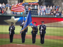 A Baseball Tradition - Our National Anthem (Photo: Steve Contursi, Reflections On Baseball)