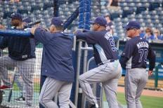 Baseball Rituals - Batting Practice (Photo: Steve Contursi, Reflections On Baseball)
