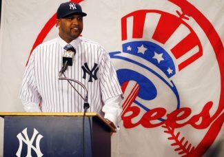 CC Sabathia and A.J. Burnett sign with the New York Yankees